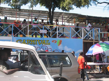 Kanaval Stand, Champs De Mars Haiti 2008