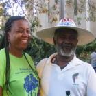 Flore And Konpe Filo At The Haiti Star Parade