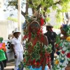 Map Haiti Carnival Costume