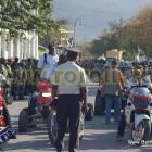 Haiti Moto Police Parade
