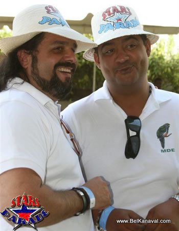 Comedian Afistol And Haitian Actor Manfred Marcelin