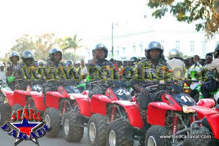 Haiti National Police Motorcycle Patrol Division