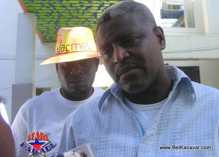 Jean Yves Jason - Mayor Of Port Au Prince Haiti