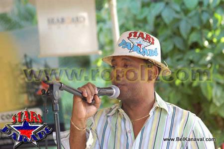 Actor Smoye Noisy At The Haiti Star Parade