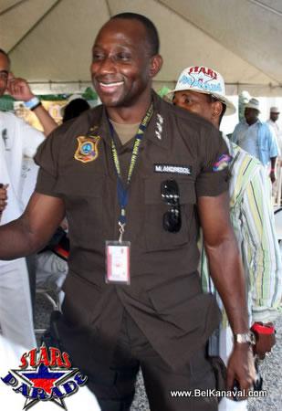 Mario Andresol, Chef De La Police En Haiti