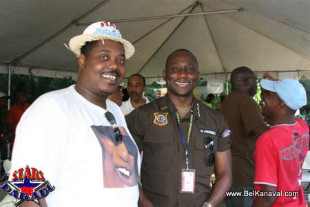 Richard Vieux Et Mario Andresol At The Haiti Star Parade