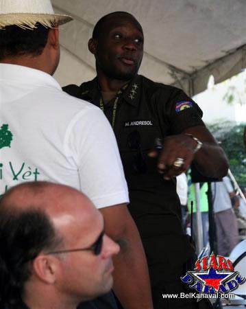 Haiti Police Chief Mario Andresol