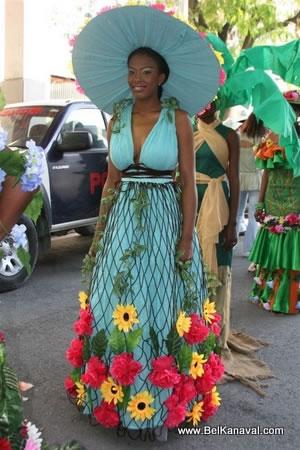 Haitian Flower Girl