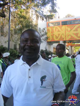 Antoine Augustin At The Haiti Star Parade