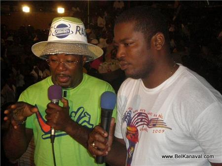 Euvrard Ak Yvenert Lan, Haiti Kanaval 2009
