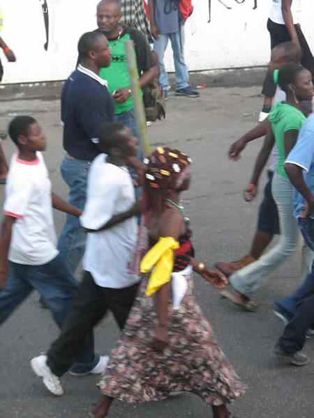 Kanaval 2008 Day 1 Defile Photo