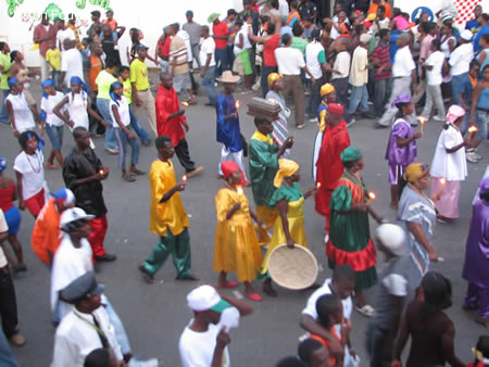 Kanaval 2008 Day 1 Defile Photo