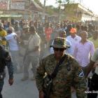 Gonaives - President Martelly rive pou Kanaval 2014 la