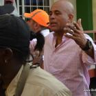 Gonaives - President Martelly Arrives For Kanaval 2014
