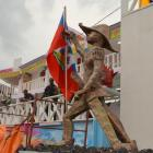 Gonaives Kanaval 2014 Yon Statue