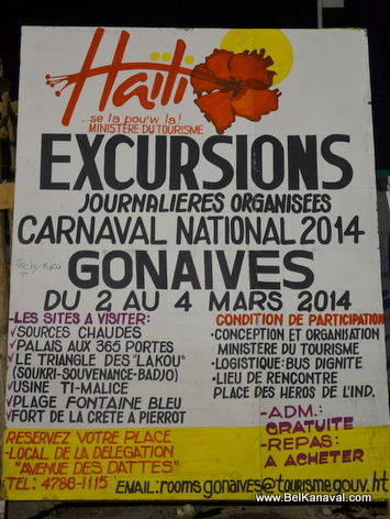 Gonaives - Tourism Ministry offering FREE Excursions to local tourist destinations