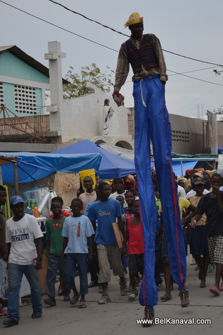 Gonaives One Day Before Kanaval (Sat 1 Mar 2014)