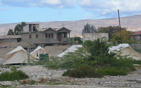 Gonaives - Tent City - Haiti Kanaval 2014