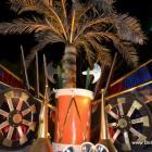 Gonaives Kanaval 2014 - The Haitian Flag emblem in 3D... Nice!