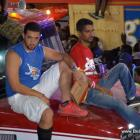 Gonaives Kanaval 2014 - Olivier Martelly sou tet Camion Char AMBYANS la...