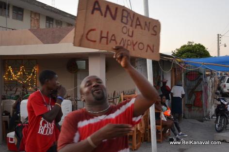 Gonaives Kanaval 2014 - ANBYANS ou Champion...