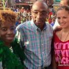 PHOTO: Haiti PM Evans Paul nan Kanaval Jacmel