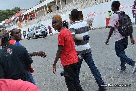 Kanaval 2015 - Stands Construction - Champs-de-Mars Haiti - 13 Fev 2015