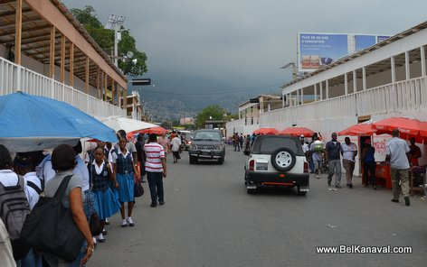Kanaval 2015 - Stands Construction - Champs-de-Mars Haiti - 13 Fev 2015