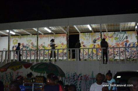 Kanaval 2015 - Stands Construction - Champs-de-Mars Haiti - 14 Fev 2015