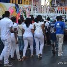 Haiti Kanaval 2015 - Mardi, Tout moun abiye an Blan pou rann Hommage a moun ki mouri yo