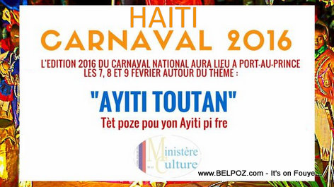 PHOTO: Haiti Carnaval 2016 - HAITI TOUTAN